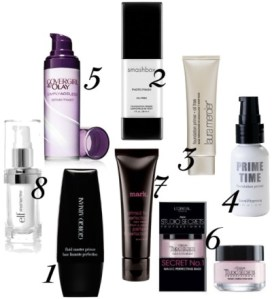 The top Makeup Primers