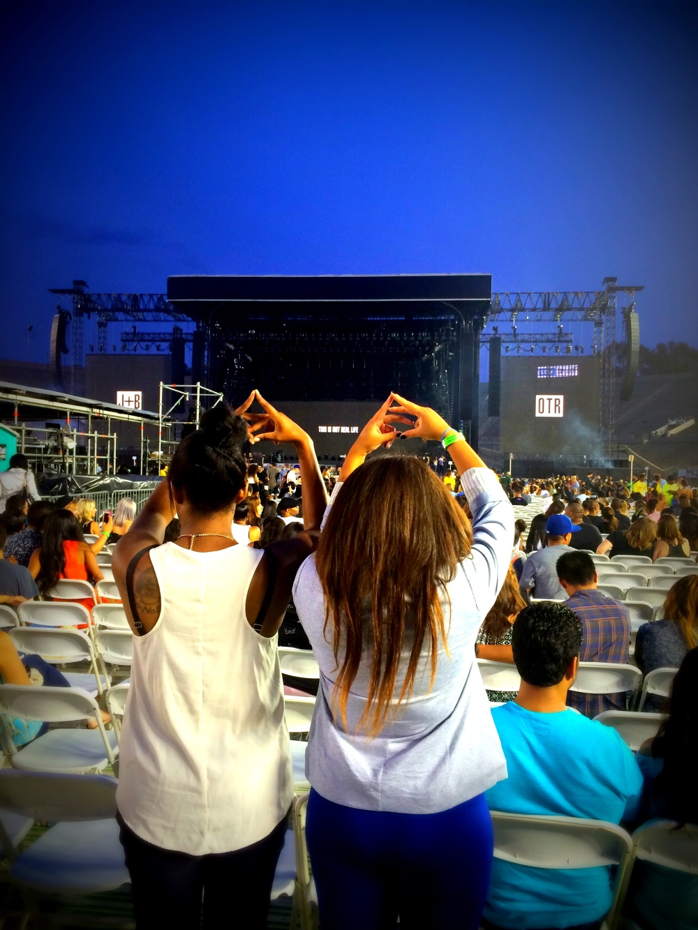 "img alt=""Beyonce, On the run tour, rosebowl, Delta Zeta, Throw what you know"""